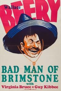The Bad Man of Brimstone poster