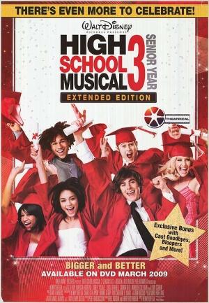 High School Musical 3: Senior Year 500x721