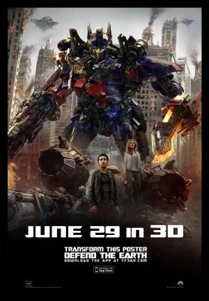 Transformers 3: Die dunkle Seite des Mondes 1296x1869