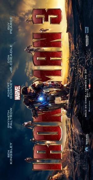 Iron Man Three 2500x4808