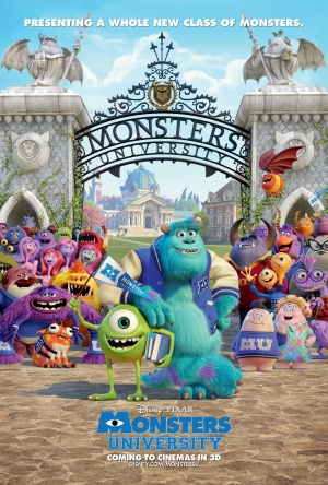 Monsters University 3375x5000