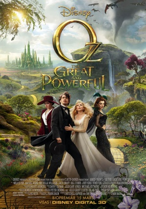 Oz the Great and Powerful 595x850