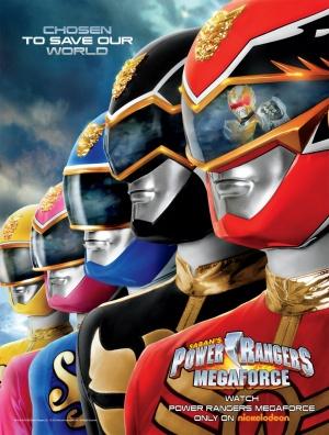 Power Rangers Megaforce 1137x1500