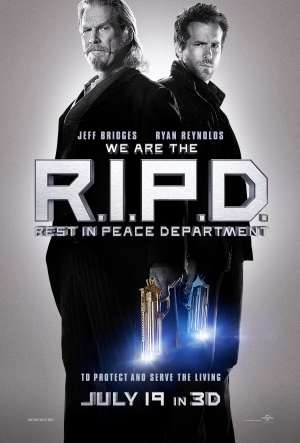 Ghost Agent: R.I.P.D. 3385x5000