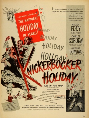 Knickerbocker Holiday 1209x1600