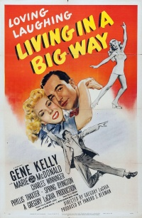 Living in a Big Way poster