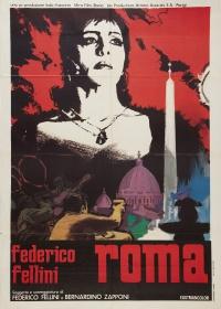 Fellini's Roma poster