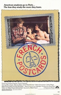 French Postcards poster