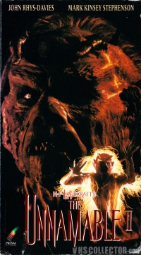 The Unnamable II: The Statement of Randolph Carter poster