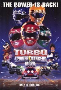 Turbo: Der Power Rangers Film poster