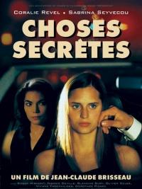 Choses secrètes poster