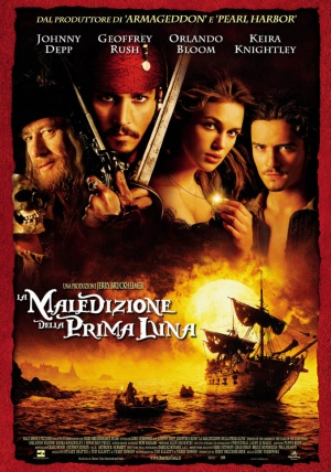 Pirates of the Caribbean: The Curse of the Black Pearl 677x966