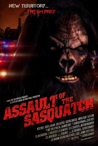 Sasquatch Assault poster
