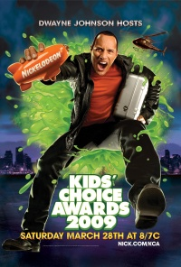 Nickelodeon Kids' Choice Awards 2009 poster