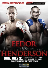 Strikeforce M-1 Global: Fedor vs. Henderson poster