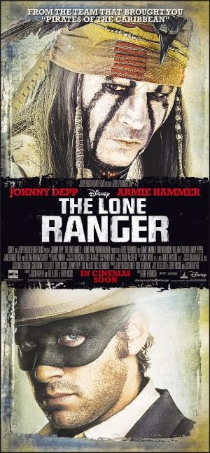 The Lone Ranger 2324x5000