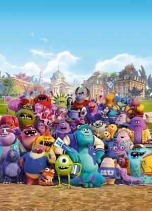 Monsters University 3587x5000