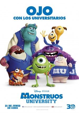 Monsters University 3507x5000