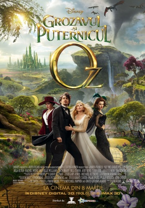 Oz the Great and Powerful 992x1417