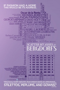 Scatter My Ashes at Bergdorf's poster
