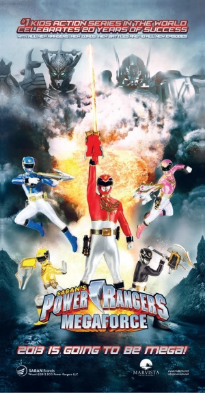 Power Rangers Megaforce 658x1258