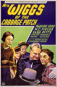 Mrs. Wiggs of the Cabbage Patch poster