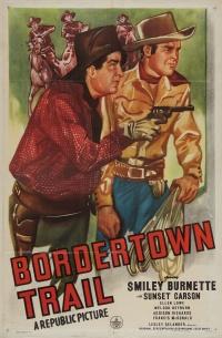 Bordertown Trail poster