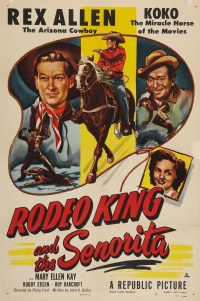 Rodeo King and the Senorita poster