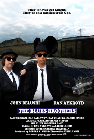 The Blues Brothers 3375x5000