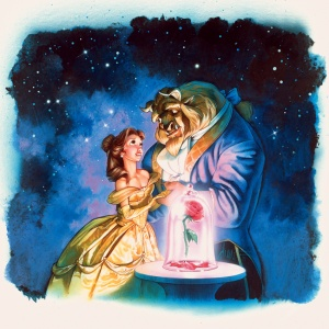 Beauty and the Beast 850x850