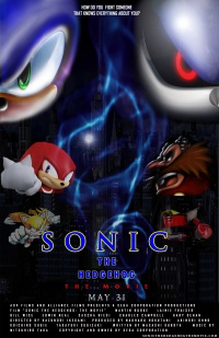 Sonic the Hedgehog: The Movie poster