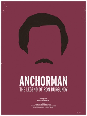 Anchorman: The Legend of Ron Burgundy 1500x2000