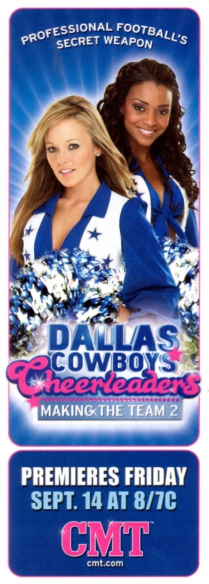 Dallas Cowboys Cheerleaders: Making the Team 1107x3081