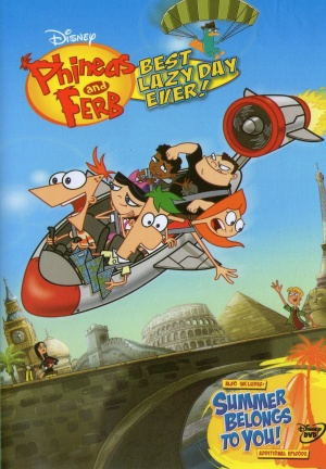 Phineas and Ferb 1469x2117