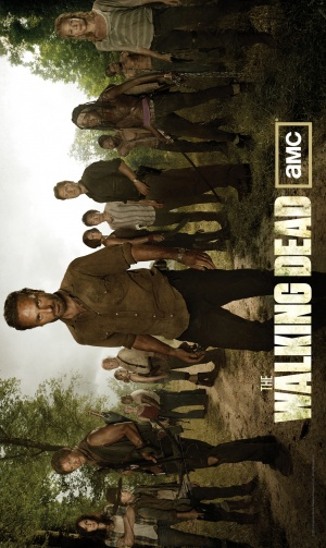 The Walking Dead 1073x1800
