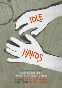 Idle-Hands poster
