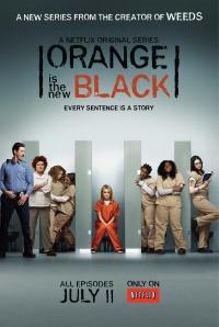 Oranzna je nova crna poster