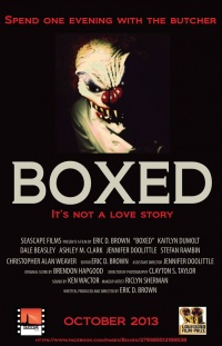 Boxed poster