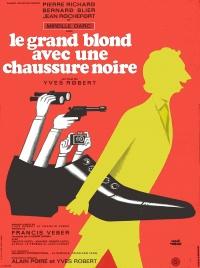 Le grand blond avec une chaussure noire poster