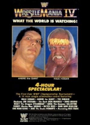WrestleMania IV 340x470