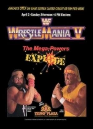 WrestleMania V 340x470