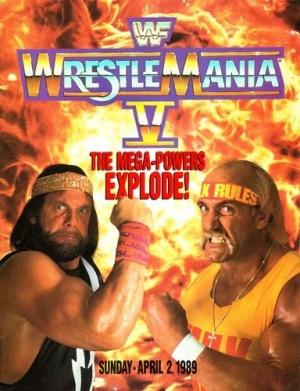 WrestleMania V 384x500