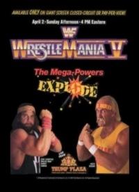 WrestleMania V poster
