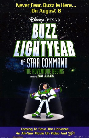 Buzz Lightyear of Star Command: The Adventure Begins 580x896