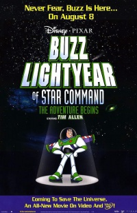 Captain Buzz Lightyear - Star Command poster