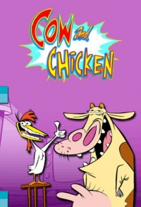 Cow and Chicken poster