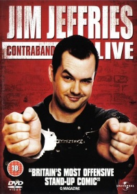 Jim Jefferies: Contraband poster