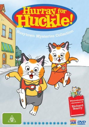 Hurray for Huckle! 1522x2162