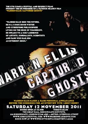 Warren Ellis: Captured Ghosts 420x595