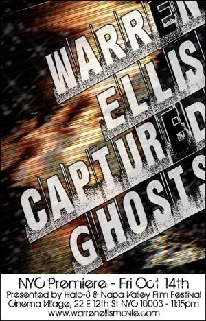 Warren Ellis: Captured Ghosts 500x780